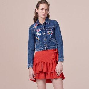 VIVO Embroidered denim jacket