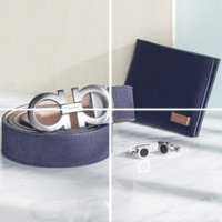 Givenchy,D&G 等大牌男士钱包 皮带配件超折上折大促