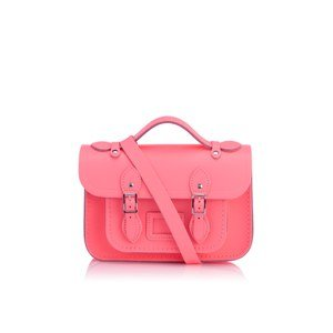 The Cambridge Satchel Company Women's Mini Satchel - Neon Coral