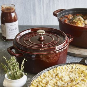 $119Select Staub  Round Cocottes