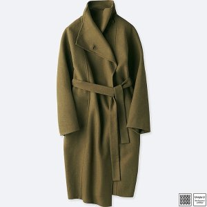 系带茧型大衣 三色可选