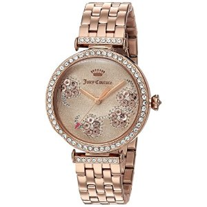 Juicy Couture Women's 'J COUTURE' Quartz Stainless Steel Casual Watch, Color:Rose Gold-Toned (Model: 1901517)