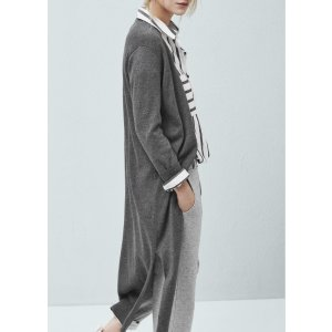 Long cotton cardigan - Women | OUTLET USA