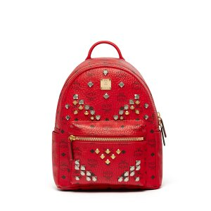 Small Stark Backpack in Ruby Red