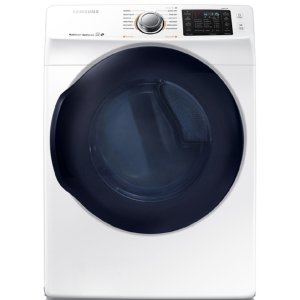 Shop Samsung 7.5-cu ft Stackable Electric Dryer (White) ENERGY STAR at Lowes.com