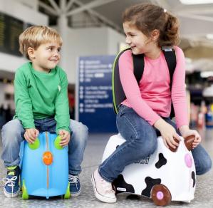 $39.99Trunki 儿童4轮可滑行行李箱