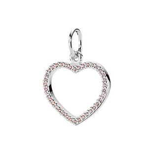 Rue La La — PANDORA Be My Valentine Silver CZ Pendant Enhancer Charm