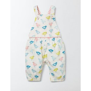 Printed Ruffle Overalls 73237 Pants & Jeans at Boden