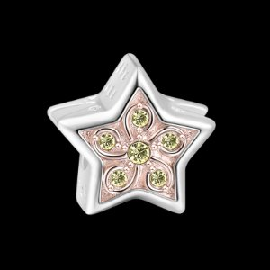 Star Rose Gold - Good Luck - Charms