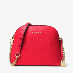 Mercer Leather Dome Crossbody