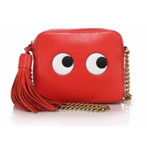 Anya Hindmarch - Eyes Leather Chain Crossbody Bag - saks.com