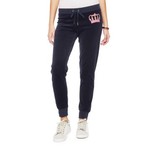 VELOUR JUICY CROWN ZUMA PANT - Juicy Couture