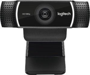 $79.99 (原价$99.99)Logitech C922 1080P 专业流媒体摄像头