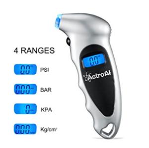 仅$10.44限今天:AstroAI 轮胎气压测量仪