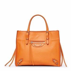 Orange Mini Papier Bag