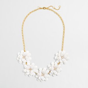 Girls' Flower Petal Necklace : Girls' Jewelry & Accessories | J.Crew Factory