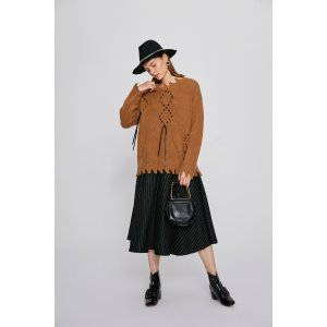 Strap Knitted Sweater TP2114