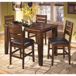 Signature Design by Ashley® Larchmont Counter Height 5-PC Rectangular Dining Set - JCPenney