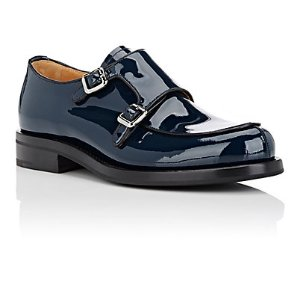 Church's Petunia Patent Leather Double-Monk-Strap Shoes | Barneys New York