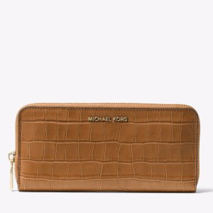 Mercer Embossed-Leather Continental Wallet