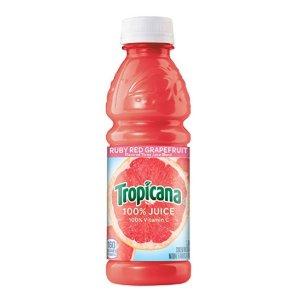 $9.87 包邮Tropicana 健康葡萄柚汁 296ml 24瓶装