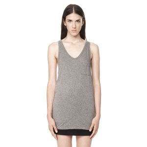 CLASSIC TANK WITH POCKET | TOP | Alexander Wang Official Site