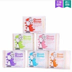 ¥79包邮包税最后一天:Goat Soap手工山羊奶皂6块装