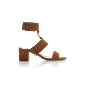 Safari Suede Sandals by Aquazzura   Moda Operandi