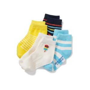 Crew-Sock 4-Pack for Toddler & Baby