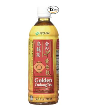 Ito En Golden Oolong Tea, Unsweetened, 16.9 Fluid Ounce (Pack of 12)