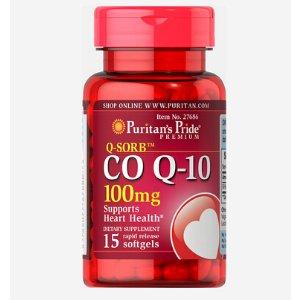 辅酶 Co Q-10 100 mg 15粒