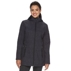 Women's Free Country Hooded Side Tabs Soft Shell Jacket