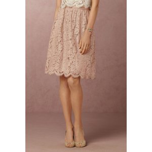 Lydia Lace Skirt | Anthropologie