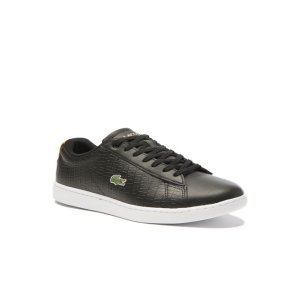 Women's Black Carnaby Sneakers | LACOSTE