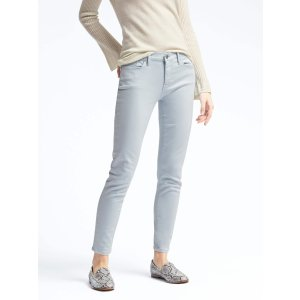 Light Blue Skinny Crop Jean | Banana Republic