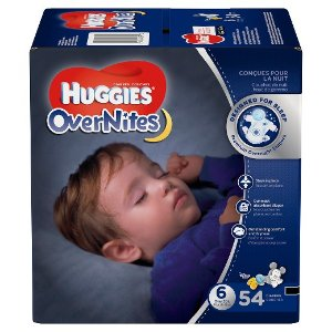 Huggies® Overnites Diapers Super Pack (Select Size)