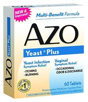 $3.89AZO Yeast Plus 60 Tablets @ Amazon