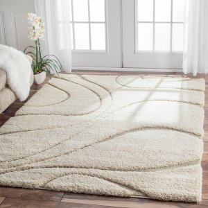nuLOOM Luxuries Posh Ivory Shag Rug - Free Shipping Today - Overstock.com - 14959672