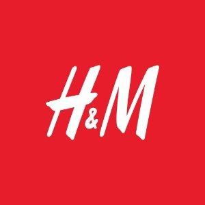 4折起H&M官网 男女冬季服饰48小时限时大促