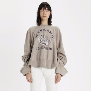 Cotton Graphic Sweatshirt by Maison Margiela - La Garçonne