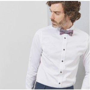 ARRAN Cotton modern fit shirt