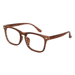 Trenton Wayfarer - Brown Eyeglasses | GlassesShop.com