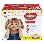 HUGGIES Simply无香型宝宝湿巾,6包,共432张