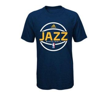 adidas Utah Jazz T恤衫大童版 (8-20)