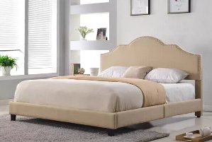 $179Abbyson Richmond Upholstered Queen Size Bed