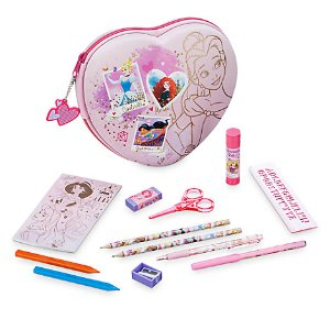 Disney Princess Zip-Up Stationery Kit | Disney Store