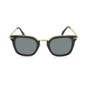 Céline VIC CL 41402/S Acetate and Gold Metal Cat Eye Women's Sunglasses