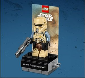 Free Exclusive Scarif Stormtrooper MinifigureCelebrate FORCE FRIDAY II @ LEGO