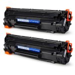 ikong 2-BLACK CompatibleToner Cartridge Replacement for Canon