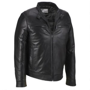 Wilsons Leather Smooth Lamb Moto Jacket - View All - Men's & Big/Tall - Wilsons Leather